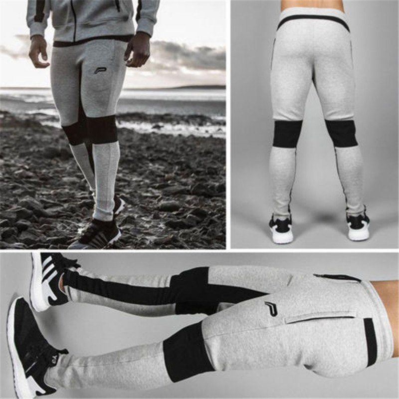 Relaxing Man Pants Fast Drying Wind Split Joint Exercise Test
